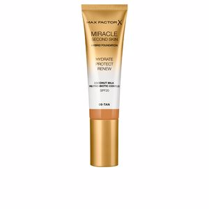 MIRACLE TOUCH second skin found.SPF20 #9-tan 30 ml