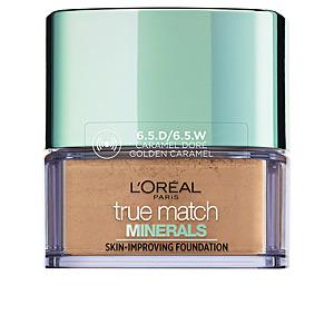 TRUE MATCH MINERALS skin-improving foundation #6.5.D/6.5.W