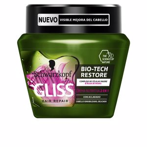 Hair mask for damaged hair GLISS BIO-TECH RESTORE mascarilla Schwarzkopf