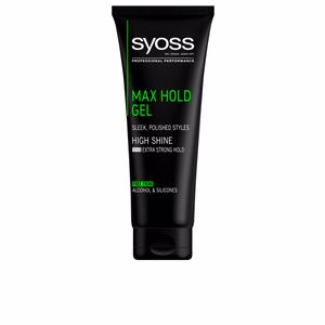 Produit coiffant GEL max hold Syoss