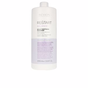 Moisturizing shampoo RE-START balance soothing cleanser shampoo Revlon