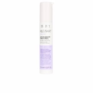 Protección cabellos teñidos RE-START color anti-brassiness purple drops Revlon