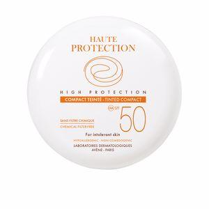 Foundation makeup SOLAIRE HAUTE PROTECTION compact teinté SPF50 Avène