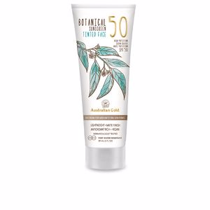 Gesichtsschutz BOTANICAL SPF50 tinted face #medium-tan