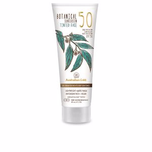 Faciales BOTANICAL SPF50 tinted face #rich-deep Australian Gold
