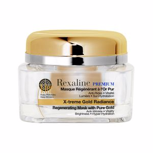 Face mask PREMIUM LINE-KILLER X-TREME regenerating mask pure gold Kanebo Sensai