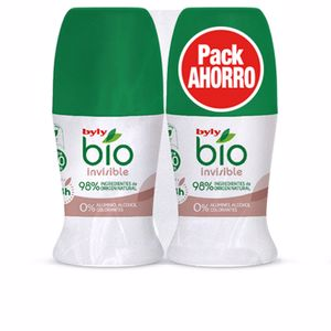 Set de bain et hygiène BIO NATURAL 0% INVISIBLE DEO ROLL-ON COFFRET Byly