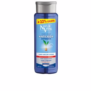 Shampooing antipelliculaire CHAMPÚ SENSITIVE anticaída Naturvital
