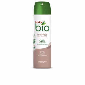 Desodorizantes BIO NATURAL 0% INVISIBLE deo spray Byly
