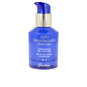 Anti aging cream & anti wrinkle treatment - Face moisturizer SUPER AQUA emulsion light Guerlain
