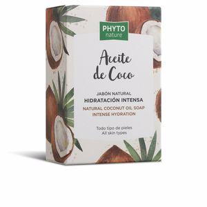 PHYTO NATURE pastilla jabón aceite coco 120 gr