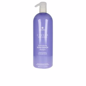 Hair loss shampoo - Moisturizing shampoo CAVIAR RESTRUCTURING BOND repair shampoo back bar Alterna
