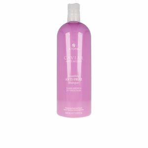 Hair straightening shampoo - Anti frizz shampoo CAVIAR SMOOTHING ANTI-FRIZZ shampoo back bar Alterna