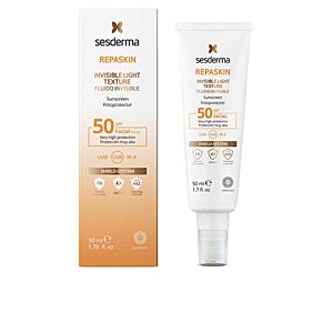 Gesichtsschutz REPASKIN FACIAL SPF50 fluido invisible Sesderma