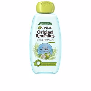 Moisturizing shampoo ORIGINAL REMEDIES champú agua coco y aloe Garnier