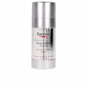 Anti aging cream & anti wrinkle treatment - Face moisturizer HYALURON-FILLER peeling & serum noche Eucerin