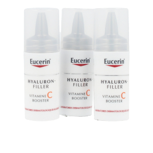 Anti aging cream & anti wrinkle treatment HYALURON-FILLER vitamina C booster ampollas Eucerin