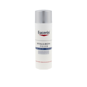 Anti aging cream & anti wrinkle treatment HYALURON-FILLER crema noche extra rica Eucerin