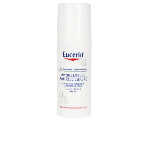 Tratamiento Facial anti rojeces ANTIREDNESS crema con color correctora SPF25+ Eucerin