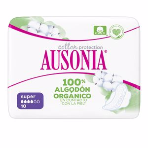 Compresas AUSONIA ORGANIC compresas super alas Ausonia