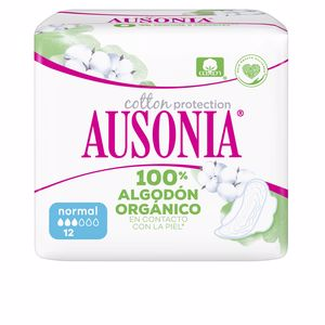 AUSONIA ORGANIC compresas normal alas 12 uds
