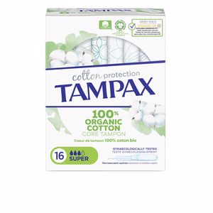 Tampons hygiéniques TAMPAX ORGANIC SUPER tampón Tampax