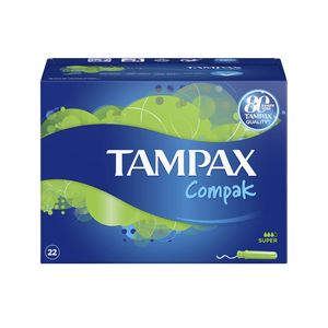 Tampons hygiéniques TAMPAX COMPAK tampón super Tampax