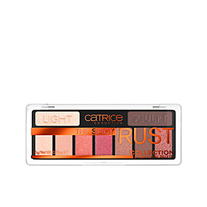 Lidschatten THE SPICY RUST eyeshadow palette Catrice