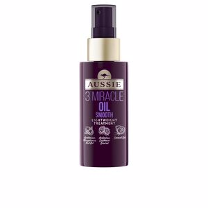 Tratamiento hidratante pelo - Tratamiento brillo 3 MIRACLE OIL smooth lightweight treatment Aussie