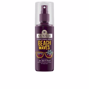Hair styling product BEACH WAVES conditioning spray Aussie
