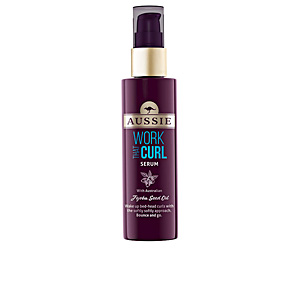 Tratamiento rizos WORK THAT CURL serum Aussie