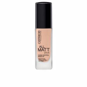 Foundation makeup ALL MATT PLUS shine control make up Catrice