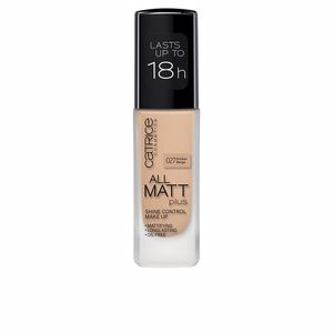Foundation makeup ALL MATT PLUS shine control make up Catrice