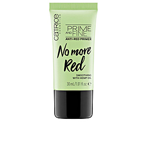 Foundation makeup PRIME AND FINE anti red primer Catrice