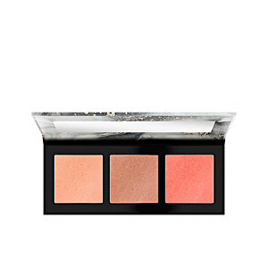 Highlighter makeup - Bronzing powder LUMINICE highlight&bronze glow palette Catrice