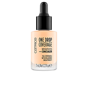Concealer makeup ONE DROP COVERAGE weightless concealer Catrice