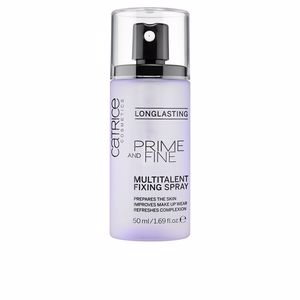Foundation makeup PRIME AND FINE multitalent fixing spray Catrice