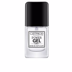 Esmalte de uñas POWER GEL 2 IN 1 base & top coat Catrice