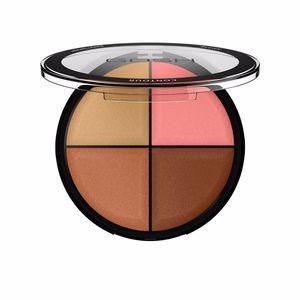 Highlighter makeup - Bronzing powder - Blusher CONTOUR´N STROBE kit Gosh