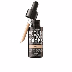 Base de maquillaje #FOUNDATION DROPS hydrating SPF10 Gosh