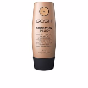 FOUNDATION PLUS+ cover&conceal SPF15 #006-honey