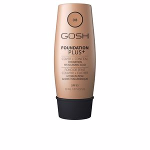 Concealer makeup - Foundation makeup FOUNDATION PLUS+ cover&conceal SPF15 Gosh