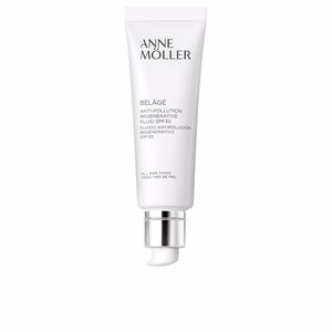 Anti aging cream & anti wrinkle treatment - Face moisturizer BELÂGE anti-pollution regenerative fluid SPF30 Anne Möller