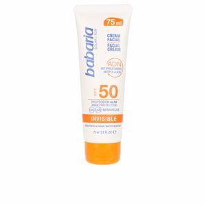 Facial SOLAR ADN INVISIBLE crema solar facial SPF50 Babaria