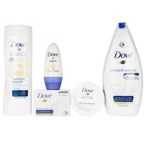 Set baño e higiene HIDRATACION PROFUNDA BEAUTY COLLECTION LOTE Dove