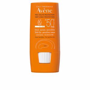 Facial SOLAIRE HAUTE PROTECTION stick zones sensibles SPF50+ Avène