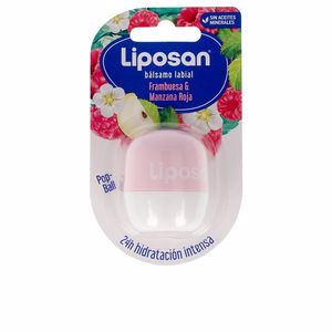 Lip balm LIPOSAN bálsamo labial #frambues & manzana roja Liposan