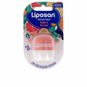 Lip balm LIPOSAN bálsamo labial #pomelo & maracuyá Liposan