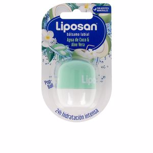 Lip balm LIPOSAN bálsamo labial #agua coco & aloe vera Liposan