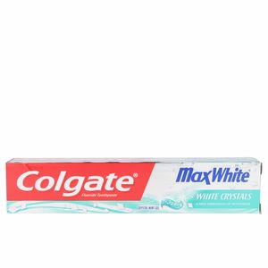 Toothpaste MAX WHITE CRISTALES BLANCOS dentífrico Colgate